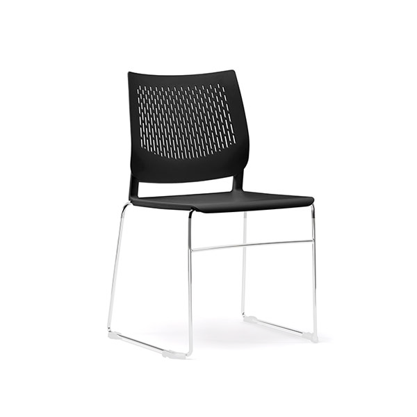 Stretto Sled Frame Classroom Chair By Bof