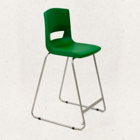 Postura + High Back Stool